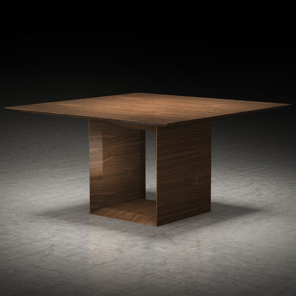 "U-Shaped Base 55"" Dining Table - Square - Grats Decor Interior Design & Build, Inc.  - 1"