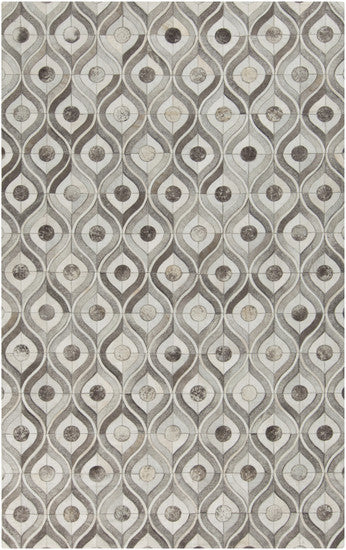 Raindrops Hide Rug - 3 sizes - Grats Decor Interior Design & Build Inc.