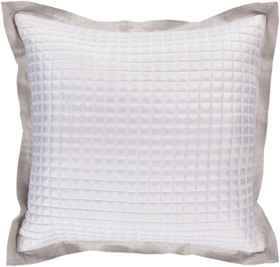 Ivory / Gray Pillow - 2 sizes - Grats Decor Interior Design & Build Inc.