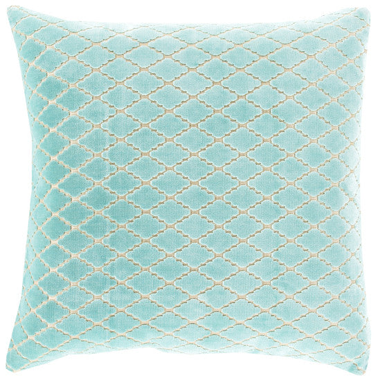 Florence Mint Pillow - Grats Decor Interior Design & Build Inc.