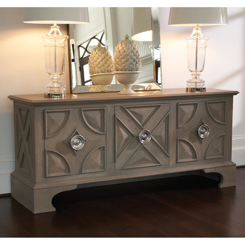 "Westmoreland 78"" Cabinet - Light Grey - Grats Decor Interior Design & Build Inc."