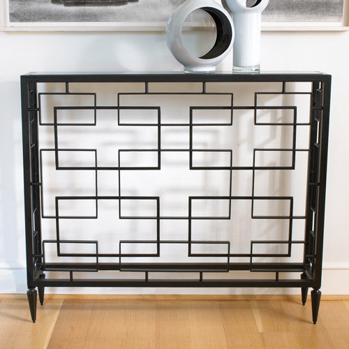"Open Block 43"" Console - Grats Decor Interior Design & Build Inc."