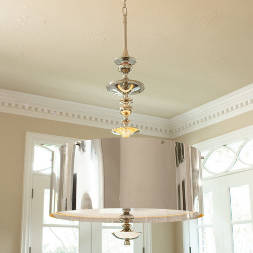 Louise Chandelier - 2 sizes - Nickel - Grats Decor Interior Design & Build Inc.