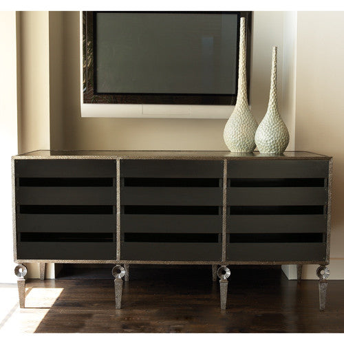 "Artisan 71"" Media Cabinet - Grats Decor Interior Design & Build Inc."