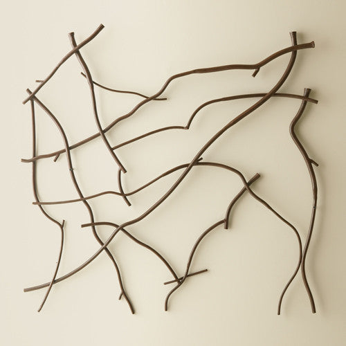 Twig Wall Panel - Grats Decor Interior Design & Build Inc.
