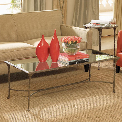 "Organic 52"" Coffee Table - Rectangular - Grats Decor Interior Design & Build Inc."