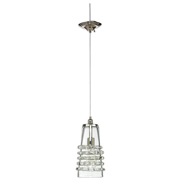 Long Ribbon Pendant - Clear - Grats Decor Interior Design & Build Inc.