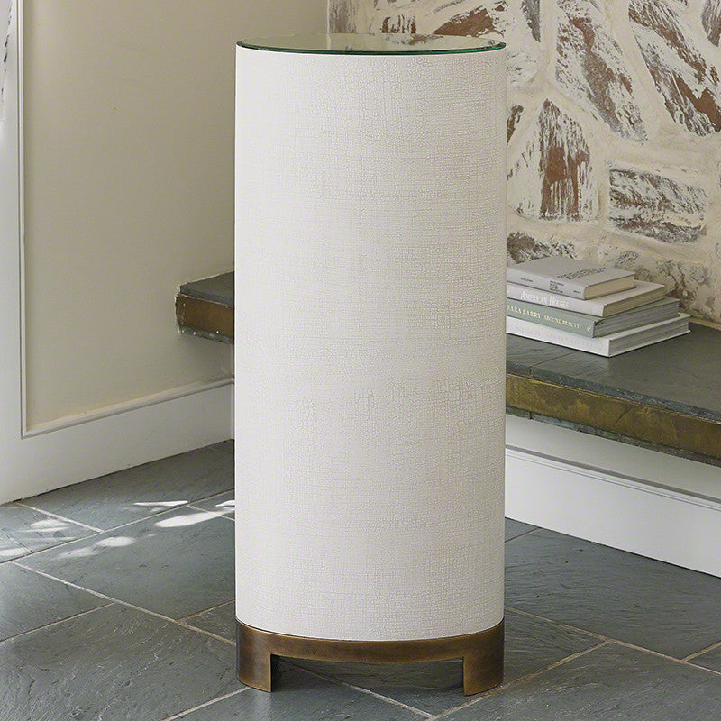 "Ellipse 13"" x 18"" Oval Pedestal - Grats Decor Interior Design & Build Inc."