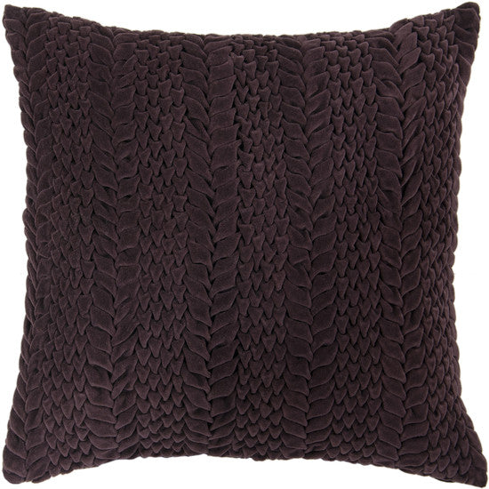 Pallavi Violet Pillow - 2 sizes - Grats Decor Interior Design & Build Inc.