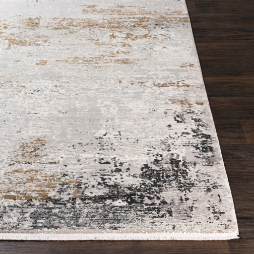 Solar Rug - Gray/ Taupe/ Yellow