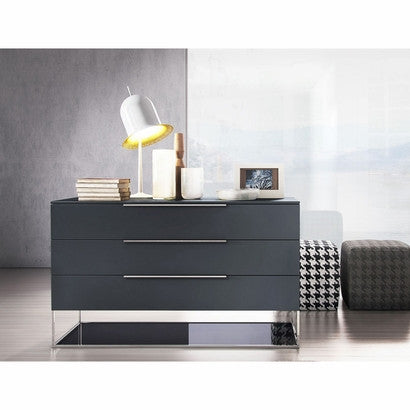 "Asphalt Matte 49""W Dresser - Grats Decor Interior Design & Build Inc."