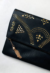 Beatrice Clutch Bag In Black