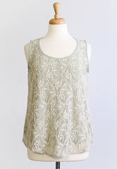 Greenwood Pines Lace Top