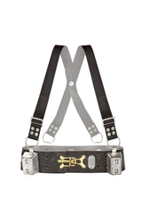 Weight Belt with Adjustable Shoulder Straps