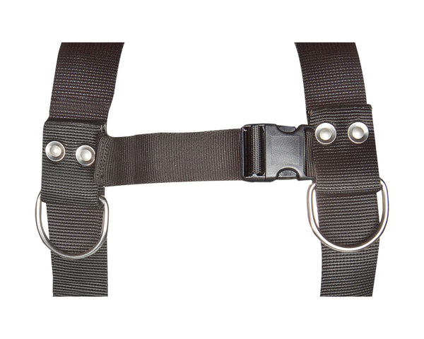 Add Chest Strap With D-Rings  (CS/SD)