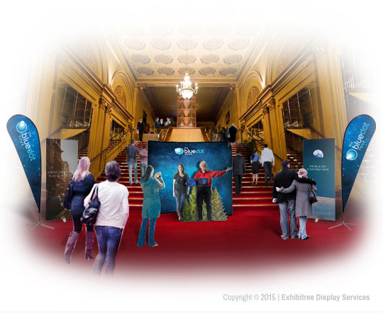 Blue Dot Tour - Event Overall Rendering