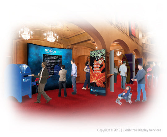 Blue Dot Tour - Display Graphics Rendering