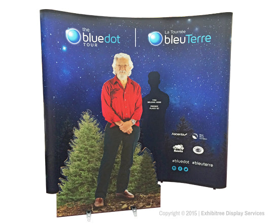 Blue Dot Tour - Pop-up Mural & David Suzuki Cutout 2