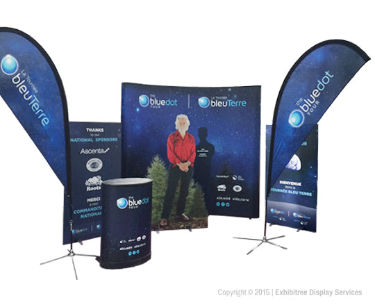 Blue Dot Tour - Display Graphics