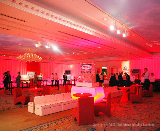 Canfor's 75th Anniversary - Lounge Area