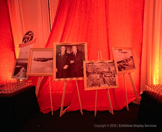 Canfor's 75th Anniversary - Old Framed Photographs