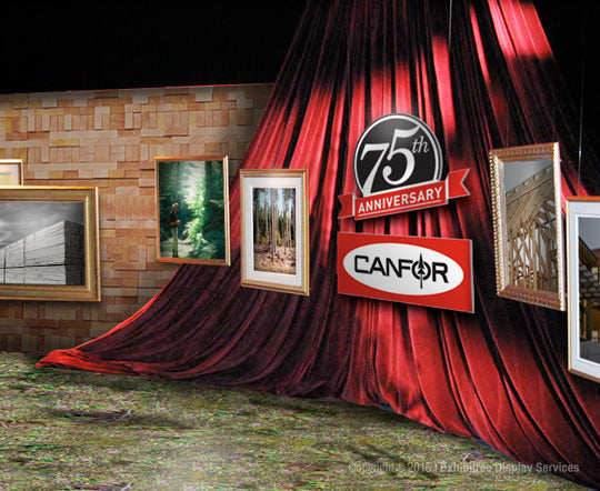 Canfor's 75th Anniversary - Concept Rendering
