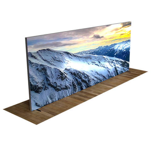20' Backlit Display Wall