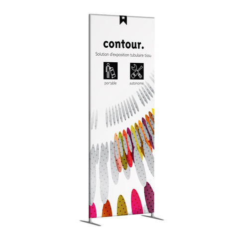 Contour 3' x 8' Fabric Wall