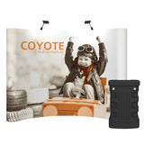 10' Coyote Curved Pop-up