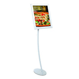 Easy Open SnapFrame Pedestal Curved Retail Display
