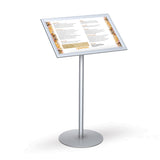Easy Open SnapFrame Pedestal Straight Retail Display