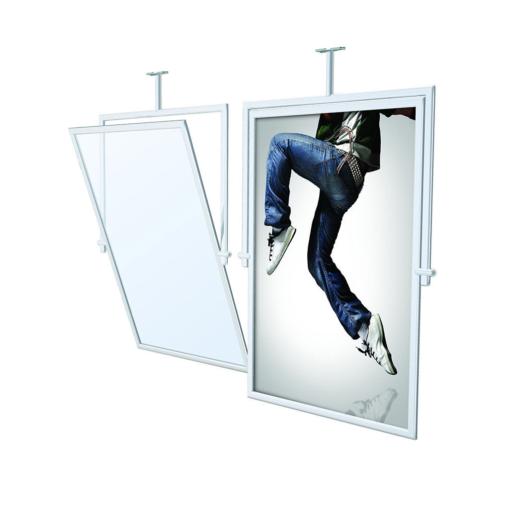 Perfex Swivel Frame Retail Display Trade Show Event