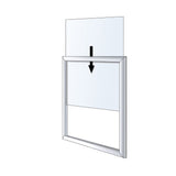 SignPost Frame Kit Freestanding Retail Display Top Insert