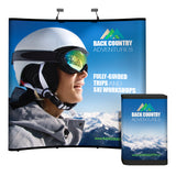Trade Show Display - 8' Curved Premium Pop-up