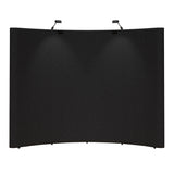 Rental Trade Show Display - 10' Curved Pop-up Display Fabric