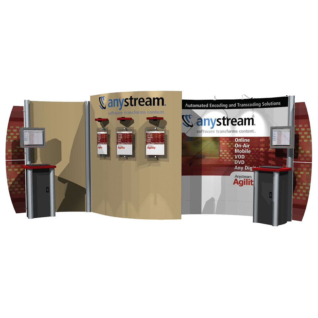 AB3017N Hybrid Pop-Up Trade Show Display