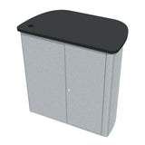 Curved Trapezoid FlexCounter Trade Show Event Counter