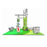 DL11352N Modular Island Trade Show Display