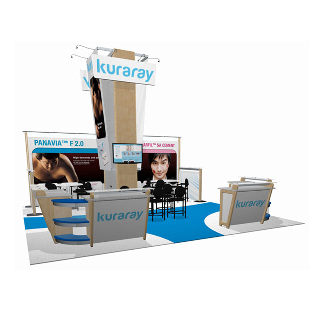 ID29406N Custom Modular 20' Inline Trade Show Display