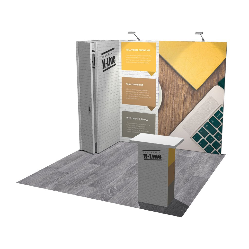 Exhibitree Display - Products - 10' x 10' Displays