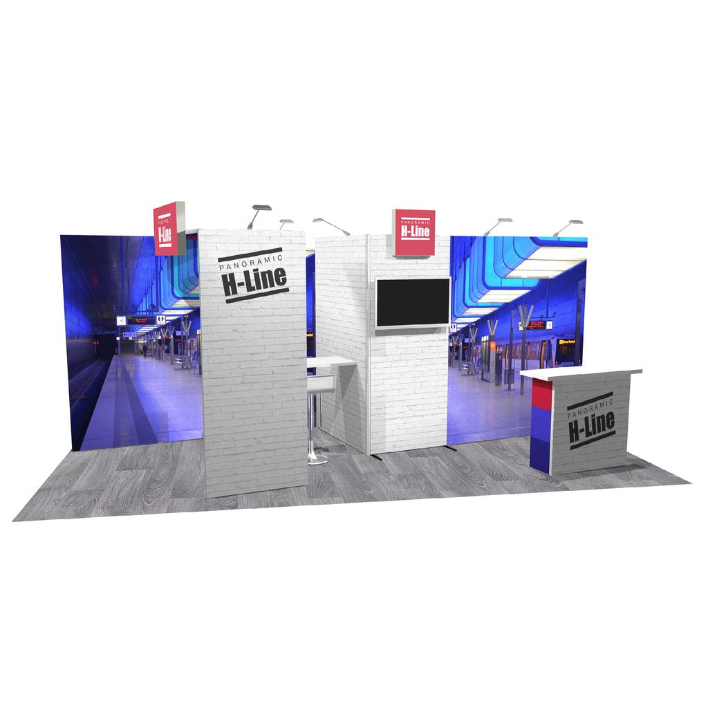 Exhibitree Display - Products - 10' x 20' Displays