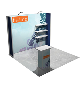 Exhibitree Display - Products - Custom Modular 20'Inlines