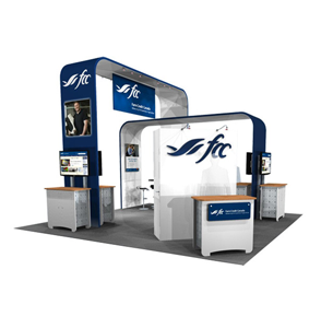 Exhibitree Display - Products - 20' x 20' + Larger Displays