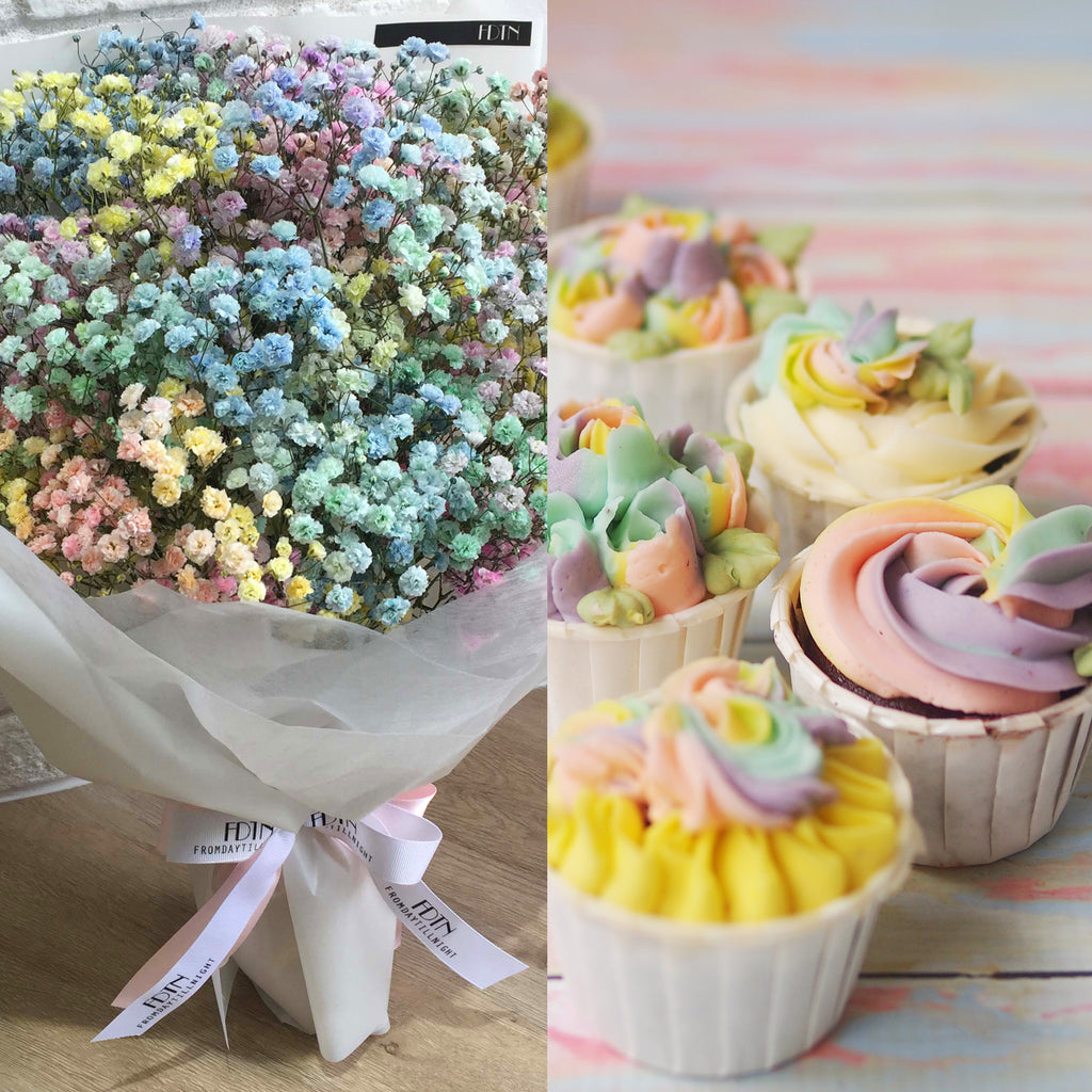 Rainbow Bouquet Bundle