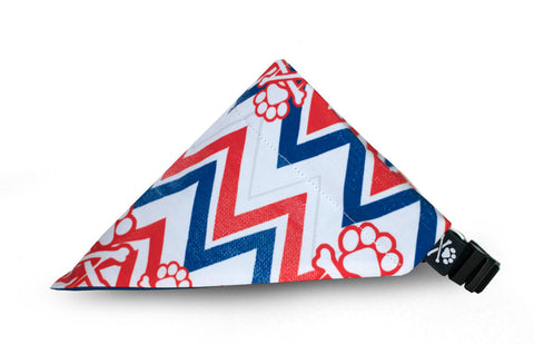 Chevron Bandana Collar