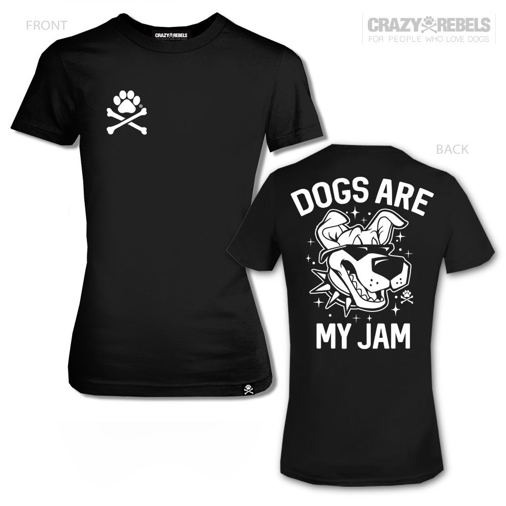 Dogs Are My Jam Women's Tee