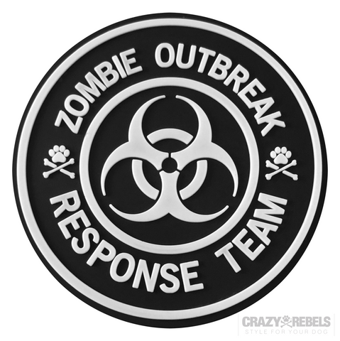 Zombie Glow-In-The-Dark Patch