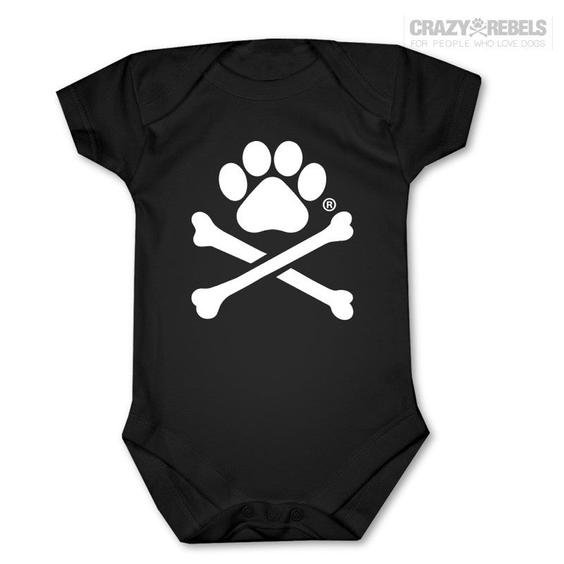 Paw Print Baby One Piece
