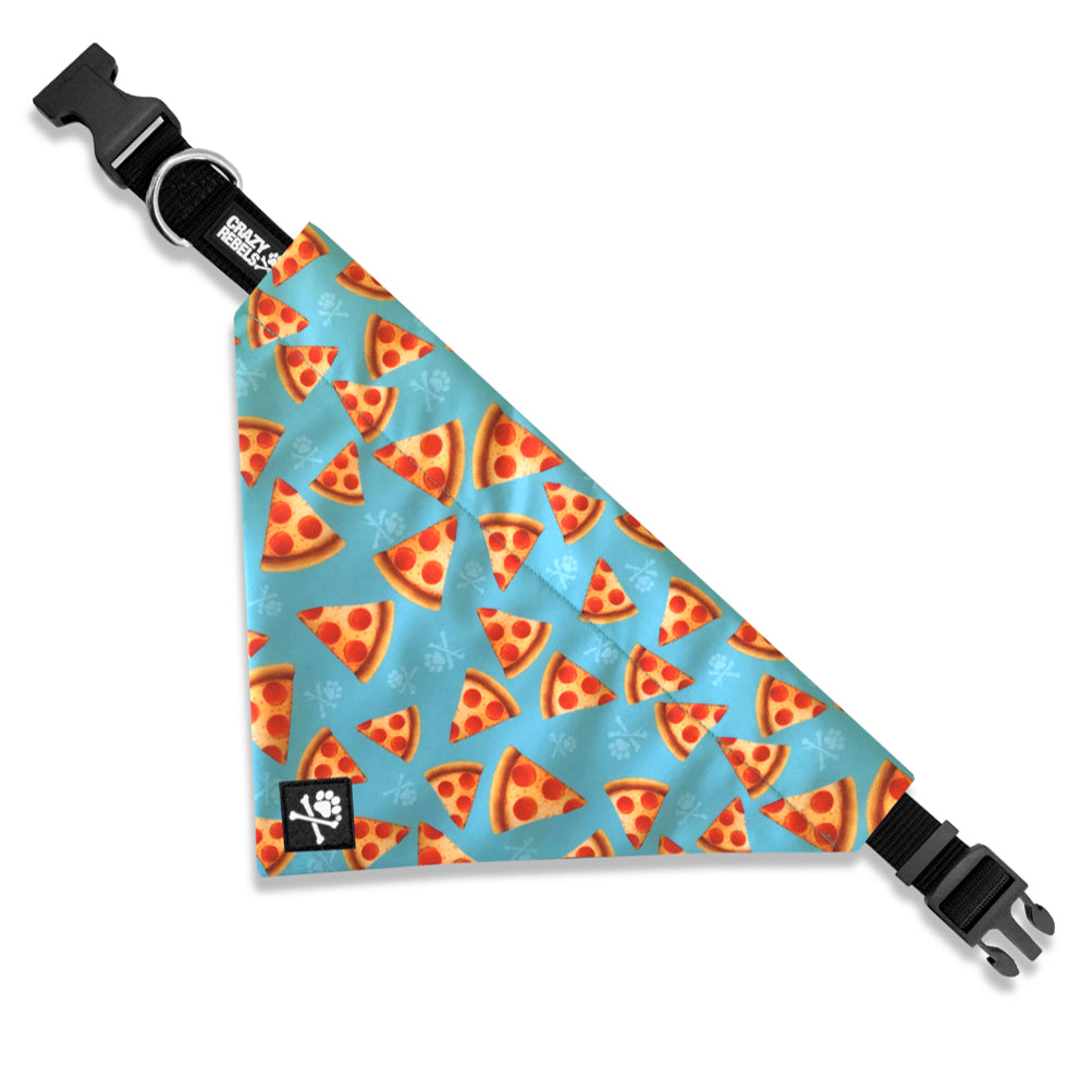 Pizza Party Bandana Collar