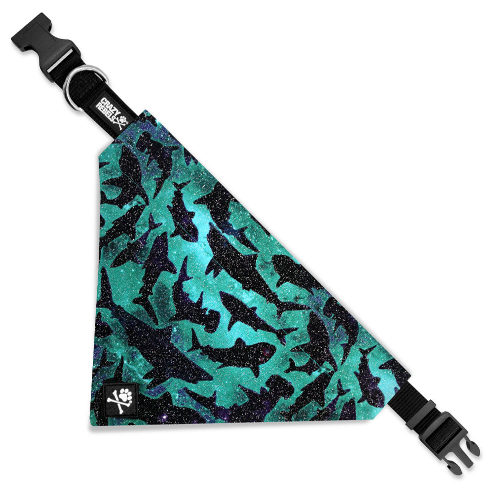 Shark Bite Bandana Collar